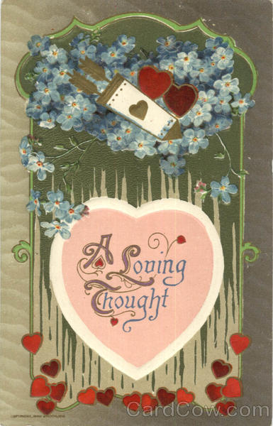 A Loving Thought Valentines Day