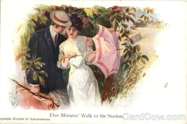 Five Minutes' Walk to the Station Romance & Love