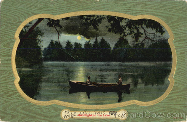 Moonlight on the Lake Romance & Love