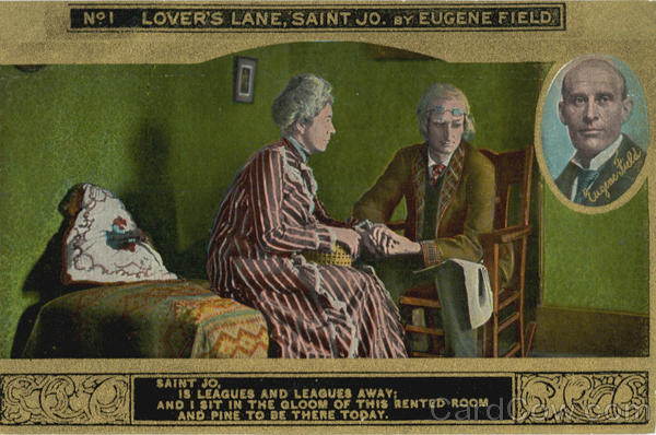 No 1 Lovers Lane, Saint Jo by Eugene Field Romance & Love