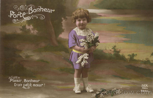 Tinted Porte-Bonheur - Little Girl Children Girls