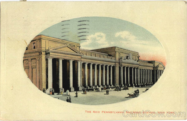The New Pennsylvania Railroad Station New York City