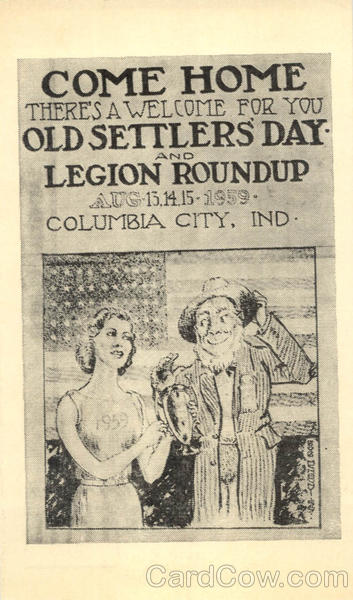 Come Home - Old Settler's Day Columbia City Indiana