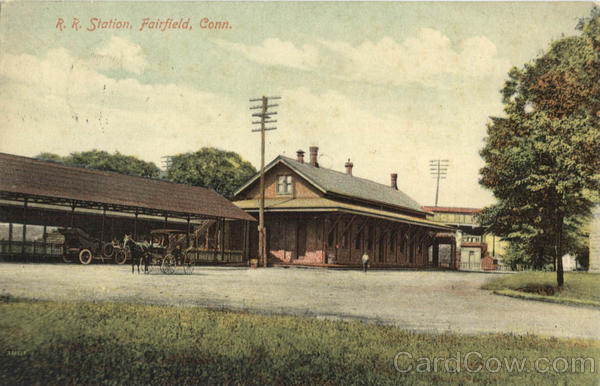 R.R. Station Fairfield Connecticut Depots