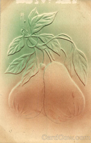 Pears - Hand Colored Fruit