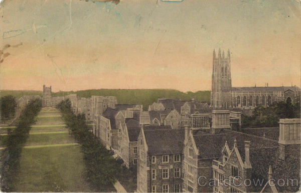 Duke University Campus South from Hospital Durham North Carolina