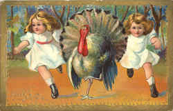 Thanksgiving Greetings w/Children