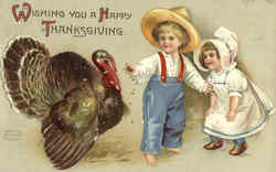 Wishing You A Happy Thanksgiving (Children)