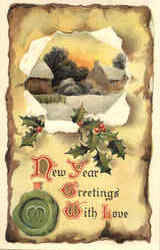 New Year Greetings With Love