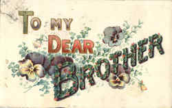 To My Dear Brother