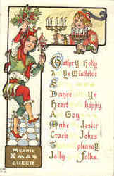 Merrie Xmas Cheer - Jester, Elves