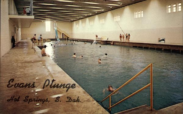 World Famous Evans Plunge Hot Springs, SD