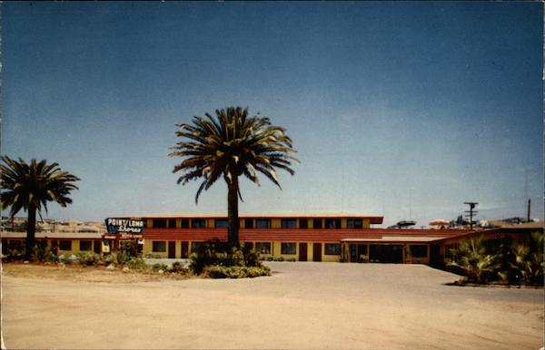 Facade of the Point Loma Shores Motor Lodge San Diego California