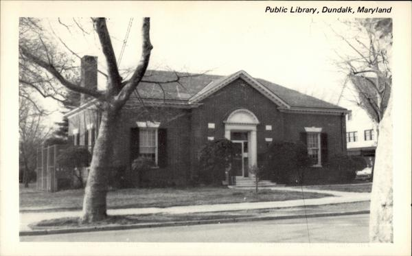 Public Library Dundalk Maryland