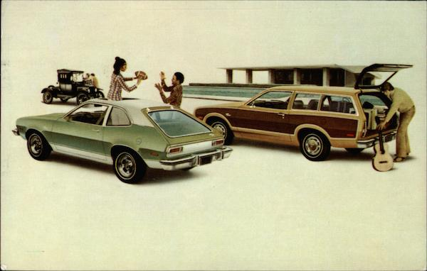 Al Packer Ford >> 1974 Pinto Squire Station Wagon and 3-Door Runabout Cars