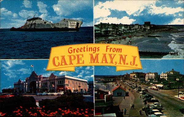 Greetings from Cape May, N.J New Jersey