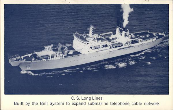C.S. Long Lines, Built by the Bell System to expand submarine telephone cable network