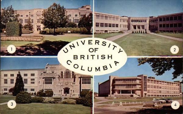 University of British Columbia Vancouver Canada