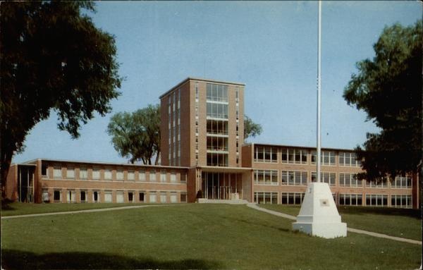 Main Building, Luther College Decorah Iowa