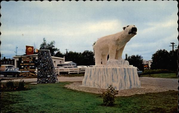Land of the Polar Bear Express Cochrane Canada Ontario