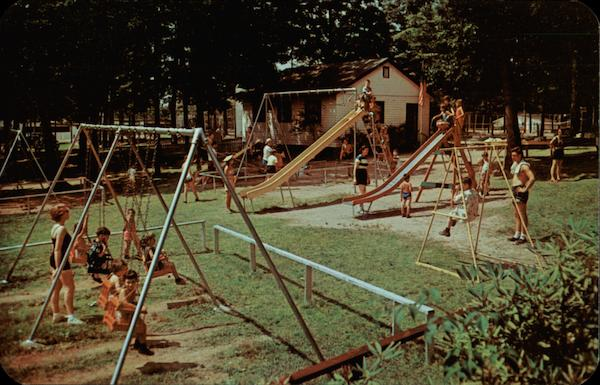 Playground at Unity House Resort Pennsylvania
