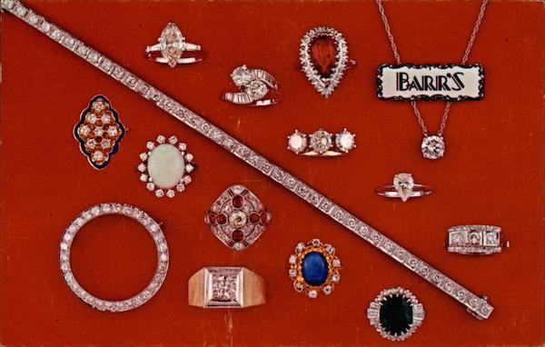 Barr's Jewelers Philadelphia Pennsylvania Advertising