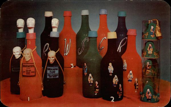 Art Anson Bottle Spongers Advertising