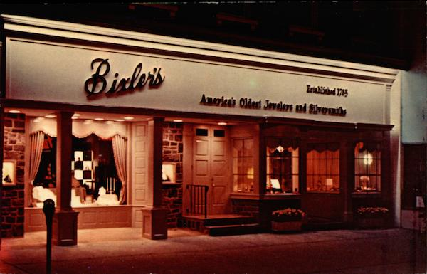 Bixler's - America's Oldest Jewelers Easton Pennsylvania