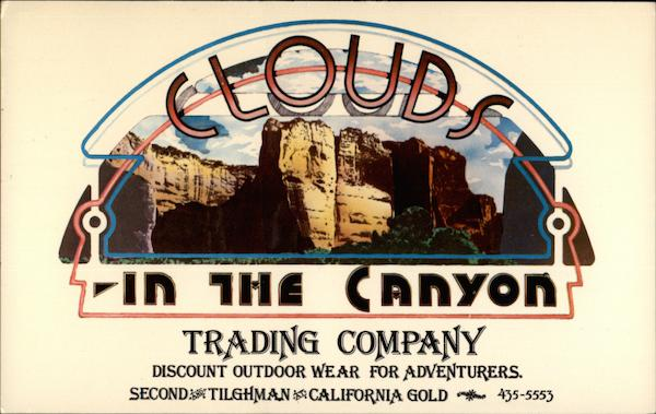 Clouds In The Canyon Trading Company Allentown Pennsylvania