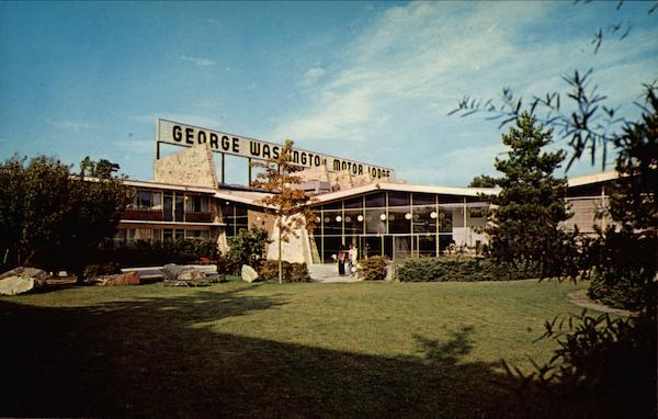 George Washington Motor Lodge Allentown Pennsylvania