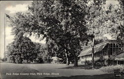 Park Ridge Country Club Postcard