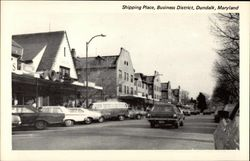 Shipping Place, Business District Postcard