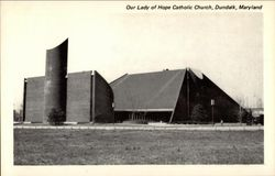 Our Lady of Hope Catholic Church Postcard