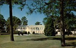 Post Headquarters at Fort Jackson Postcard