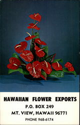Anthuriums by Hawaiian Flower Exports