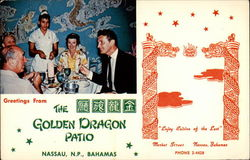 The Golden Dragon Postcard