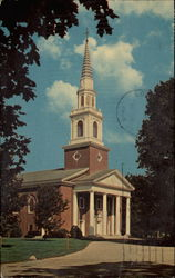Alumni Memorial Chapel, center of worship at The Southern Baptist Theological Seminary Postcard