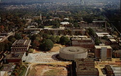 Aerial view of campus - North Carolina State University