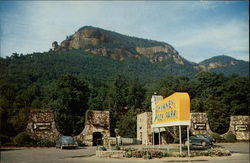 Entrance to Chimney Rock, North Carolina
