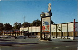 The Butler Motor Hotel Postcard