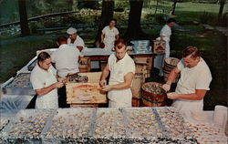 Picnics and Clam Bakes, M.W. Wood Catering Service