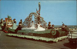 Annual Beauty Pageant Parade Postcard