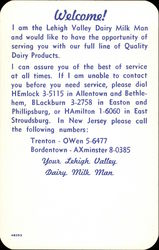 Your Lehigh Valley Dairy Milk Man