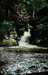 The Upper Canyon, Bushkill Falls