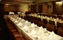 Banquet room at Walps Restaurant