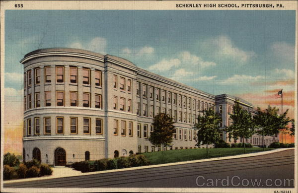 Schenley High School Pittsburgh Pennsylvania