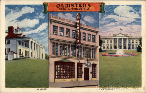 Omsteds, 1336 G Street, NW Washington District of Columbia
