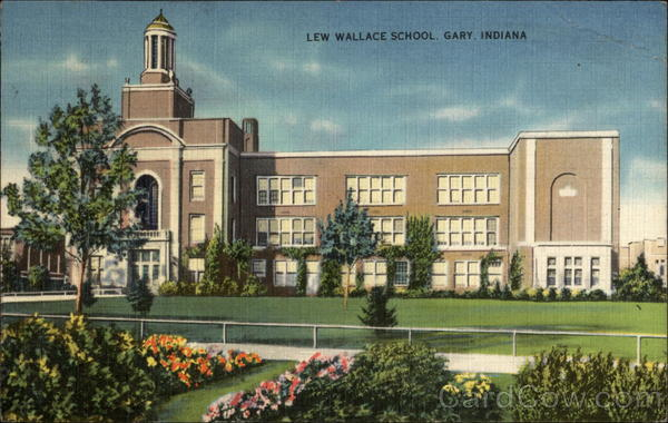 Lew Wallace School Gary Indiana
