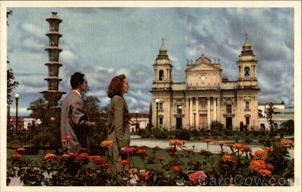 Cathedral of Guatemala City Central America