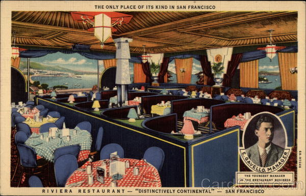 View of the Riviera Restaurant San Francisco California